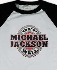 MICHAEL JACKSON new T SHIRT  80s rock All sizes base ball raglan S M L XL 80s