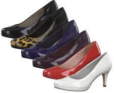 Tamaris 1-22444-23 Damen Schuhe Pumps Lack