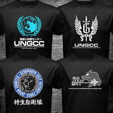 Japan Godzilla Mechagodzilla United Nations UNGCC JXSDF G Force Movie t-shirt