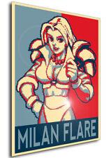 Poster - Propaganda - Pixel Art - Golden Axe The Duel - Milan Flare