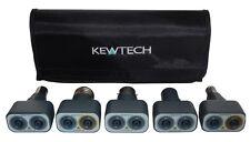 Kewtech Lightmate Lighting Circuit Testing Adaptor Kit inc BC,SBC,ES,SES & GU10