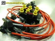 Ignition Kit Accel Coil MSX80 Spark Plug Cables Wires Taurus Contour V6 2.5 3.0