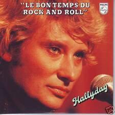 CD JOHNNY HALLYDAY le bon temps du rock and roll