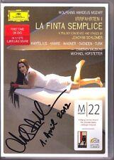 DVD Malin HARTELIUS Signed MOZART: LA FINTA SEMPLICE HOFSTETTER Joachim Schlömer