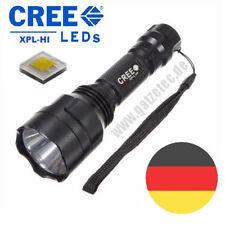 Gatzetec UF C8 CREE XP-L HI V3 LED Taschenlampe 3 Mod ohne blinken #ultrafire