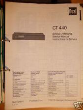 Service-Manual für Dual CT 440 Tuner, ORIGINAL!!!