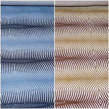 Baumwolle Stretch Stoff Glitzer 2 Farben blau u. braun gemustert #03101