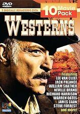 Western 10 Movie Pack (3- Disc) (DVD, 2005, 3-Disc Set)