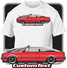 Custom Art T-Shirt 1982-88-90-1992 E30 BMW M3 Evo 318 320i 323i 325i convertible
