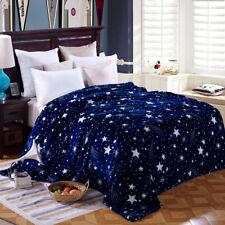 couverture Super Soft étoile Print couvre-lit couverture flanelle pour canapé