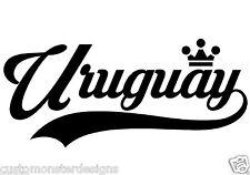 Uruguay... Uruguay Vinyl Wall Art Quote Decor Words Decals Sticker