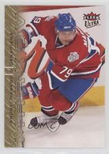 2009 Fleer Ultra Gold Medallion #78 Andrei Markov Montreal Canadiens Hockey Card