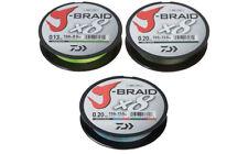 Daiwa J-Braid X8 150 / 300 / 1500 / 3000 Meter verschiedene Stärken original