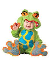 Premium Frosch Baby-Kostüm grün-bunt Cod.230938