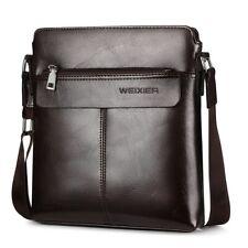 Retro Men Satchels Crossbody Bags Business Small Briefcase Shoulder Bag Man