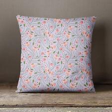 S4Sassy lumière lavande Floral imprimé couverture Throw oreiller taie décorative