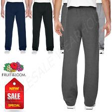 Fruit of the Loom 7.2 oz Sofspun Open Bottom Pocket Sweatpants M-SF74R