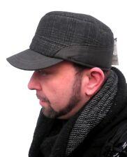 Herrencap mit Ohrenklappen Wintercap  Cap Basecap Schirmmütze Herrenmützen