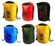 Karana Dry Travel Waterproof Pack Kayak Shoulder Day Bag 30L Duffle Rucksack