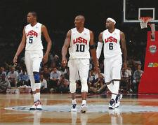 Basketball 2012 Olympics USA  LeBron James, Kobe Bryant Photo Picture