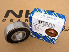Rillenkugellager / Deep Groove Ball Bearings  6203-2RS2-C3 NKE [17x40x12]
