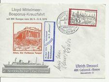 NDL Sonderumschlag SU048 Mittelmeerfahrt 31.05.1970 (DS)