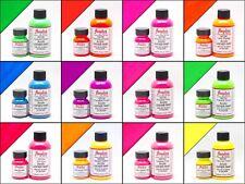 Angelus Acrylic Leather Neon Paint /Dye 1oz -  Neon Paint 12 Colors