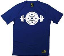 SWPS-Pesos de diseño de logotipo-Premium Dry Fit Transpirable Deportes Camiseta