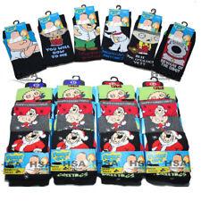Mens Family Guy Socks Novelty Character Socks,Stewie,Peter,Brian,Christmas Gift