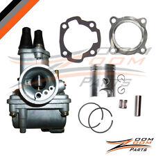 Yamaha PW 80 PW80 Carburetor Carby Piston Rings Gasket 1998 1999 2000 2001 2002