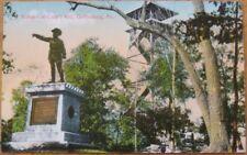 1910 Postcard: Culp's Hill, Fire Tower - Gettysburg, PA