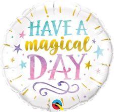 ont une magique jour anniversaire 45.7cm Ballon aluminium pour fête Qualatex