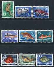 Yugoslavia 452-460, MLH, Marine Life Fish x2388