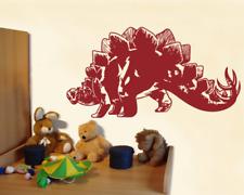 Wandtattoo Stegosaurus Kinderzimmer Dinosaurier XXXL Wandaufkleber