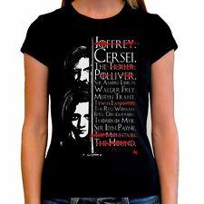 Camiseta chica mujer ARYA t shirt woman AGOT Juego de tronos Game of thrones