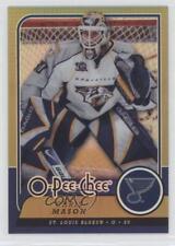 2008 O-Pee-Chee Rainbow Foil Metal #443 Chris Mason St. Louis Blues Hockey Card