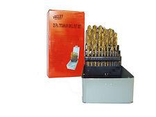 VALLEY-PRO 29pc Titanium Coated Drill Bit Set  Plus 13pc Titanium Free
