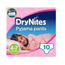 Huggies DryNites Pyjama Pants - 4-7 years  10 Pants  Girls
