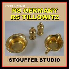 RS GERMANY TILLOWITZ Antique STOUFFER STUDIO 4 Pc Lot