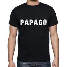 papago Tshirt, Homme Tshirt Noir, Mens Tshirt black, Cadeau, Gift