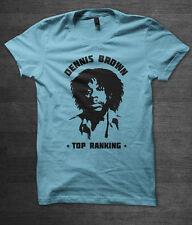 Dennis BROWN T-shirt Reggae Jamaica musica DUB Bob Marley Gregory Isaacs