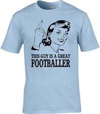 Jugador de Fútbol Camiseta Hombre Idea Regalo ocupación Deporte Equipo MATCH
