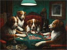 Poster / Leinwandbild / Glasbild Das Pokerspiel - Cassius Marcellus Coolidge