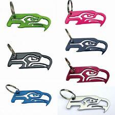 Seattle Seahawks Keychain Bottle Openers (7 Stock Colors)