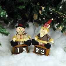 Santa or Snowman Festive Christmas countdown calendar.