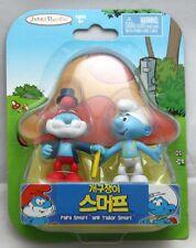 JAKKS Pacific Smurfs Figure Packs - Papa Smurf and Tailor Smurf