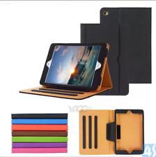 iPad Air 5 Gen 6 Gen Pro 12.9 TAN Leather Luxury Wallet Magnetic Case Cover