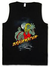 BRAINWATCH TANK TOP The Walking Baywatch Fun Zombie Dead Life Guard Malibu