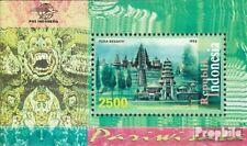 Indonesien Block130 (kompl.Ausg.) postfrisch 1998 Tourismus: Tempelanlagen