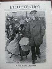 L'ILLUSTRATION 1910 N 3539 FUNERAILLES DU ROI DU SIAM